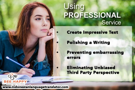 Indonesian editing and proofreading